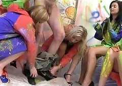 Hot Teens In Heels Cfnm Wild Pai...