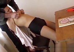 Cumming lingerie shorts dirty talk