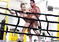 Nicole Aniston may love her BF but she loves fucking her boxing coach more