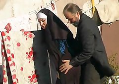 She might be a nun but she still needs to have her pussy drilled!