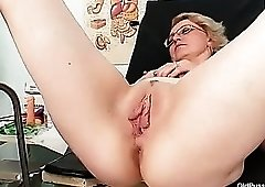 Doctor goes inside the gorgeous pussy