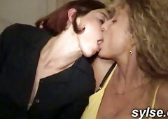 Orgy in Restaurant - Wild Matures Group Sex