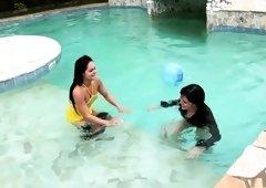 Horny pornstar Jenny Baby in amazing masturbation, lesbian porn video