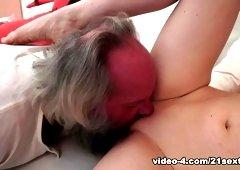 Crazy pornstars in Exotic Oldie, Cunnilingus xxx scene