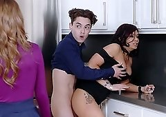 Ryder Skye and Rosalyn Sphinx know how to share a fat dick