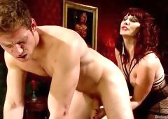 Mistress Wants To Squeeze All Juices From Him