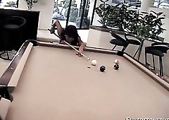 Leanni Lei is Asian chick who is really good at giving a blowjob