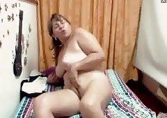 Latina Mature on cam