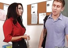 Sultry Teacher Jessica Jaymes Gi...