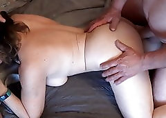 My Blindfolded Hot Wife with a new lover.