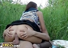 Crazy orgy with hot party girls