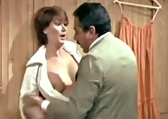 Vintage boobs sucking and some missionary fucking