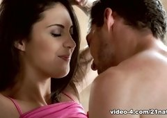 Horny pornstar Carolina Abril in Best Romantic, Facial sex scene