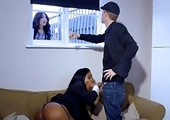 Black girl gets Pounded by Big White Cock