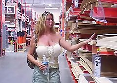 Picking up a slut from the hardware store to fuck her
