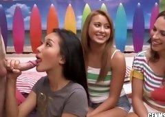 Awesome ass porn video featuring Alina Li, Marina Angel and Lilli Love