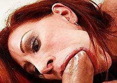 Hard Shaft On Catherine's Mouth