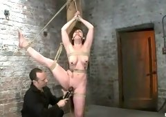 Delightful Jennifer White performing in BDSM video
