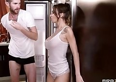 Cock sucking sex video featuring Sandee Westgate and Jared Grey