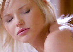 Facial dp lingerie sensual