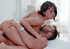 Sweetie sure knows how to handle such a heavy cock