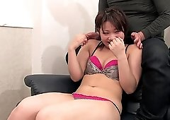 Pretty Asian hottie gets her cunt satisfied with sex toys
