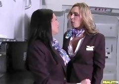 British sex video featuring Veronica Avluv and Tanya Tate