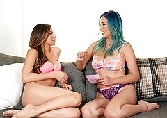 Jelena Jensen and Nina North enjoy being naughty with each other