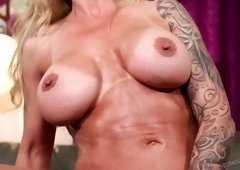 Hot tempered stud Xander Corvus fucks slutty blonde and cums in her opened mouth