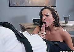 POV office sex with sultry slut Abigail Mac