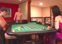 Sex in the poker room with top Maria Ozawa
