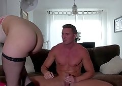 Kloe White gets naked and her soaking wet cunt gets fucked