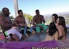 Slut takes huge black rod