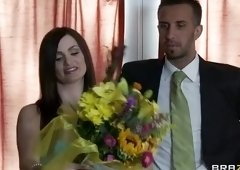 Face cum shot sex video featuring Keiran Lee and Lily Carter