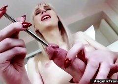 Anal Toying Shemale Porn