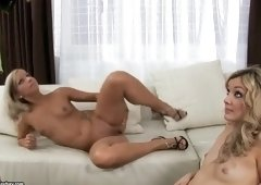 Teen sex video featuring Faye X and Candy