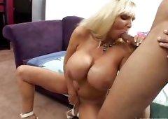 My Huge Boobs Granny @ Blacks On Blondes #02