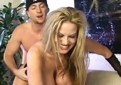 Kelly Madison Takes It Hard In Her Peach