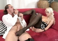 Mia Hilton wants to bounce on a fellow's engorged pleasure rod