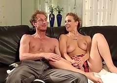 Behind the scenes with Cherie Deville and other porn stars