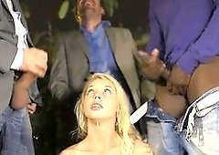 Bad cops are getting it wild with a smashing blonde whore