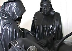 shemale Heavy rubber