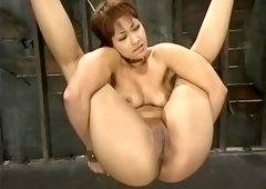Pleasing Dragon Lily acting in amazing BDSM porn