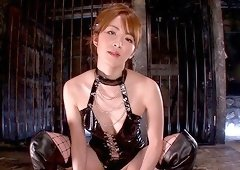 Mind-blowing BDSM action with an irresistible milf Miku Ohashi