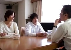 Beautiful Japanese Mom fucked by Son