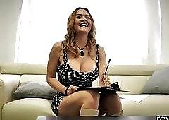 RawAttack - Krissy Lynn fucking a huge cock, interview
