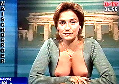 Nackt  Sandra Maischberger Sandra Maischberger