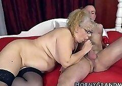 Spex grandmother fucked