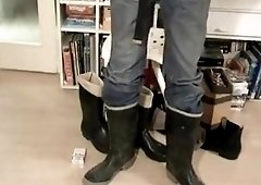 Nlboots jeans balzer boots and cumming