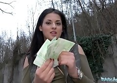 Coco De Mal Shows Tits For Cash